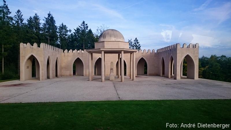 Verdun - Denkmal für die muslimischen Kolonialsoldaten Frankreichs am französischen Soldatenfriedhof von Douaumont