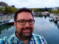 Verdun - Stadthafen und ich