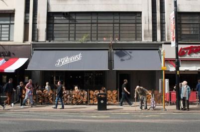 Restauranten The Botanist er ganske ny i Manchester, men et morsomt nytt bekjentskap.