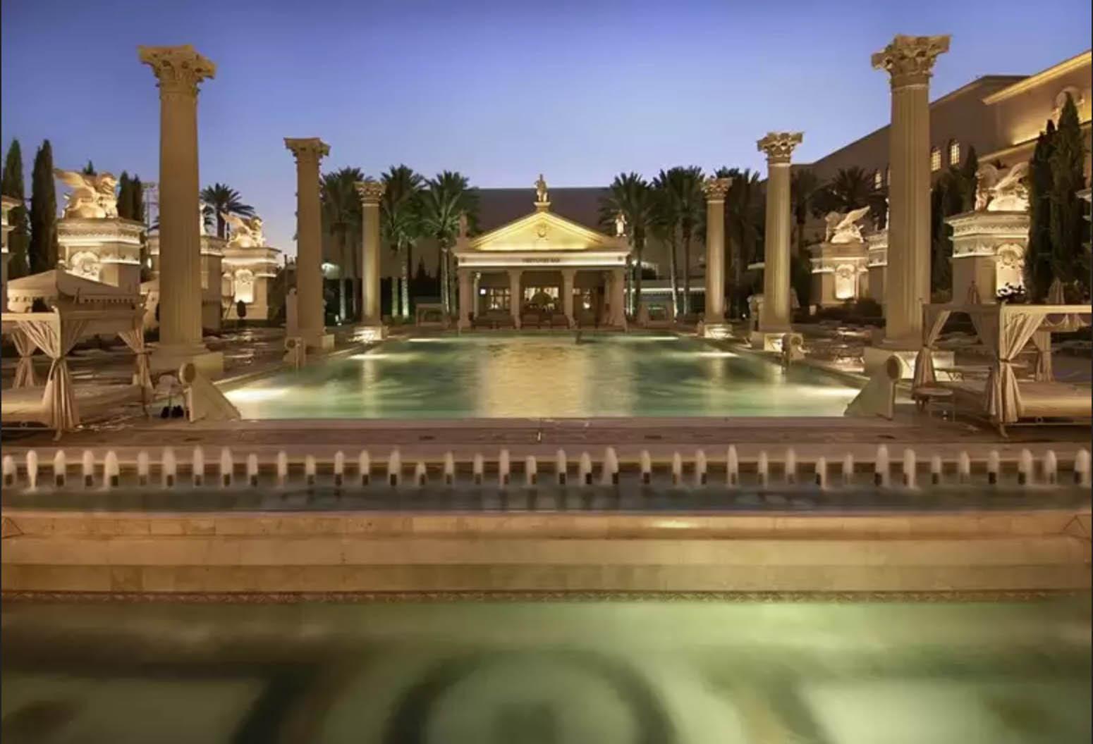 6: Ukens hotell – Caesars Palace  i Las Vegas