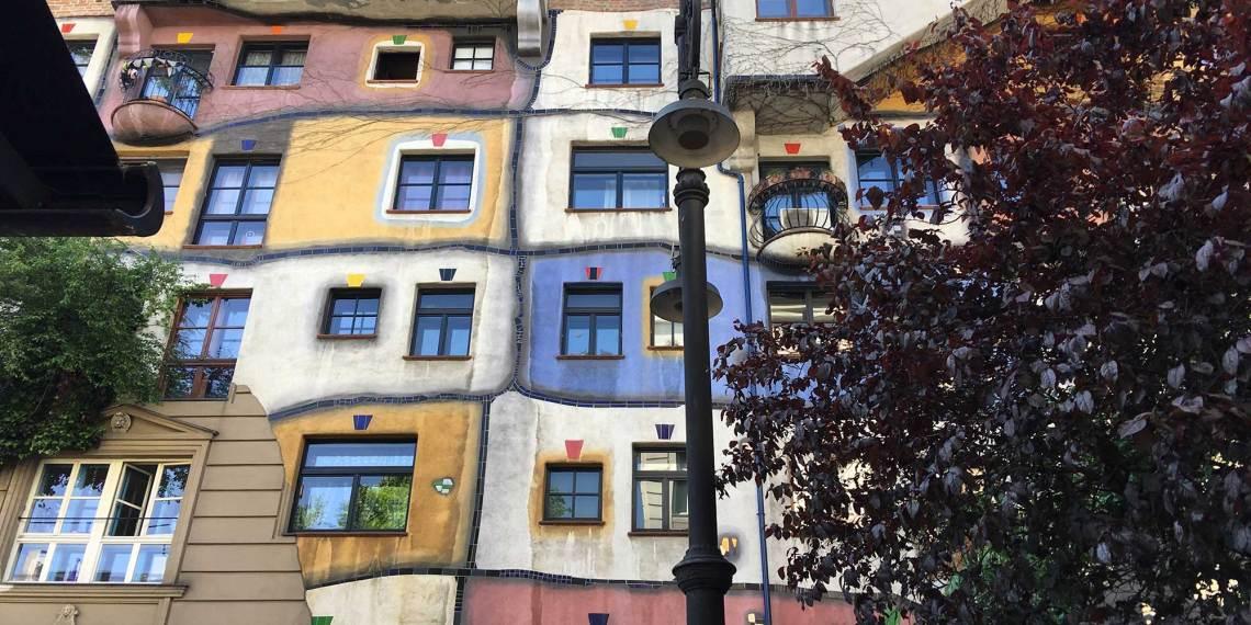Reisebüro Leurs in Wien - Hundertwasser Haus