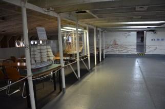 Museum im Schiffsrumpf
