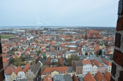Blick über Wismar