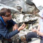 Kristalle finden in Graubünden