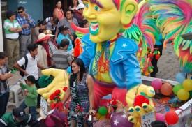 Reina carnaval Ecuador San Miguel Bolívar