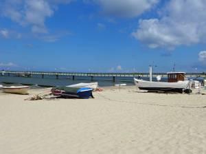 Postkartenidylle auf Usedom: Sandstrand, Meer und weiter Blick, Familienurlaub Usedom, Tipps Familienreise, Aktivurlaub mit der Familie, Usedom-Urlaub, Reiseblog. Reisefeder