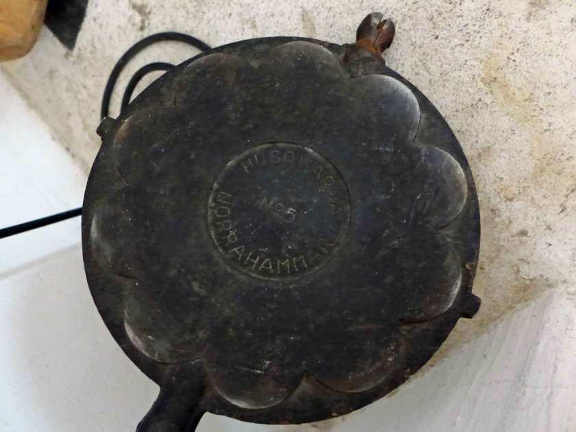 Auf Katthult waren auch Produkte von Husquvarna im Einsatz - eine Äpfelpfanne