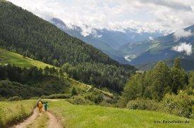 Bergpanorama Edelweißsteig