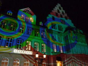 Klang-Lichtkonzert am Marktplatz