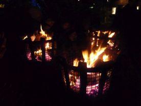 Feuerstelle im Liseberg-Park