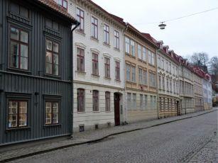 Hagas alte Holzhäuser - zum Glück vorm Abriss gerettet