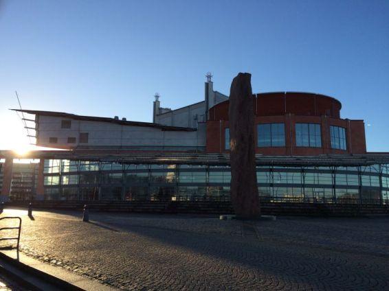 Göteborgs Oper am Wasser