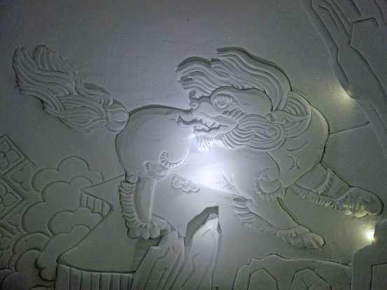 Tibetisches Motiv