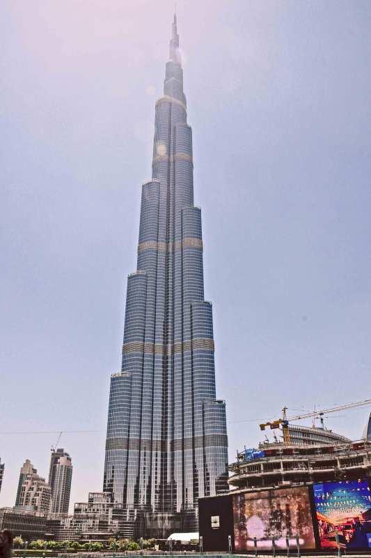 Burj al Khalifa, das höchste Gebäude der Welt
