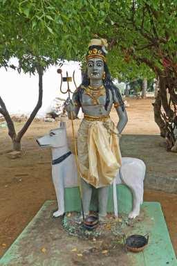 Shiva mit Jagdhund - meine Lieblingsgottheit