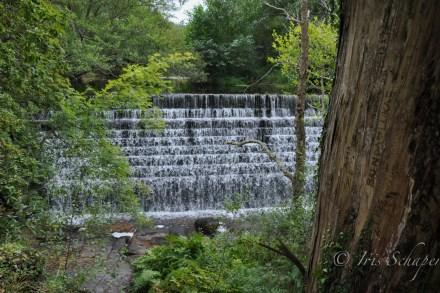 Wasserfall am paseo do namorados