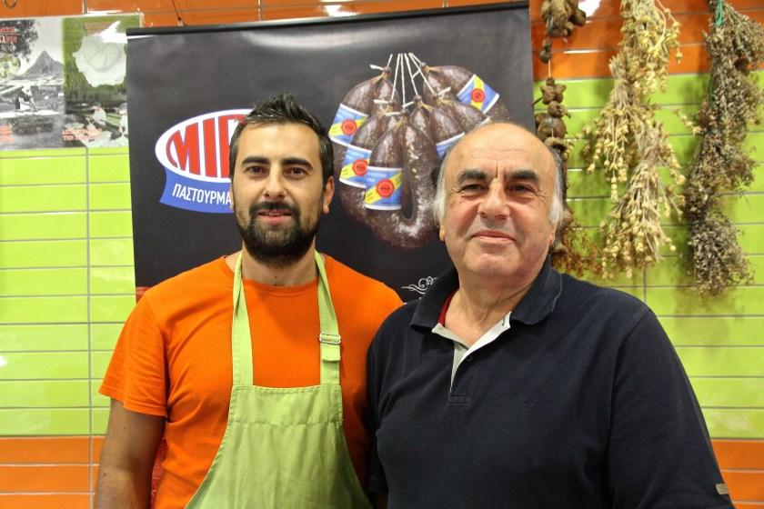 Griechenland, Thessaloniki, Essen, Markt