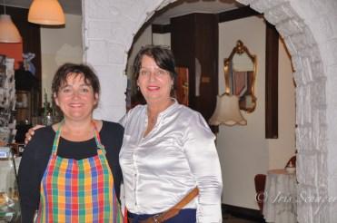 Powerfrauen und Café-Betreiberinnen Irina Rehse und Sigrid Jahn