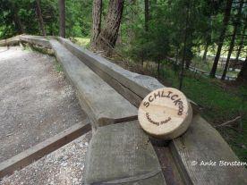 Die Holzscheibe