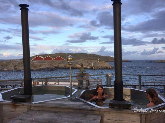 Mit Meerwasser gefüllt: der Hot Pot