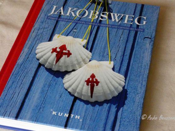 Reisefeder Benstem Bücher Jakobsweg