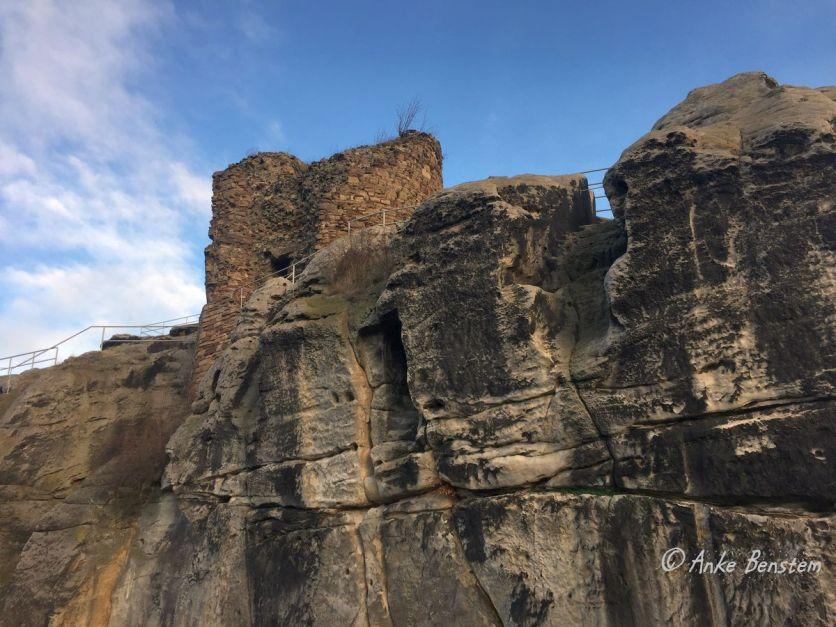 Benstem Reisefeder Harz Regenstein Burg
