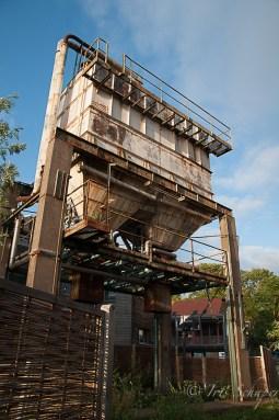Aus dem ehemaligen Getreidetank der alten Brauerei soll eine ungewöhnliche Ferienwohnung werden