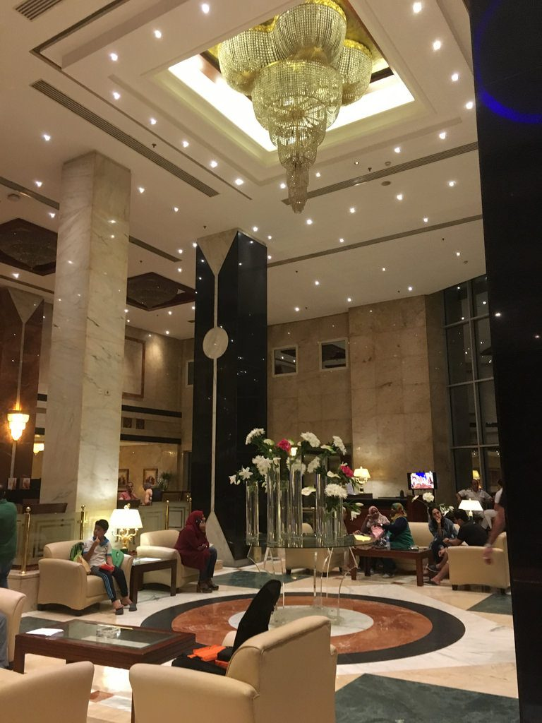 Safir Hotel Cairo  Zimmer mit Balkon