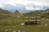 Aussicht ins Durmitor-Gebirge