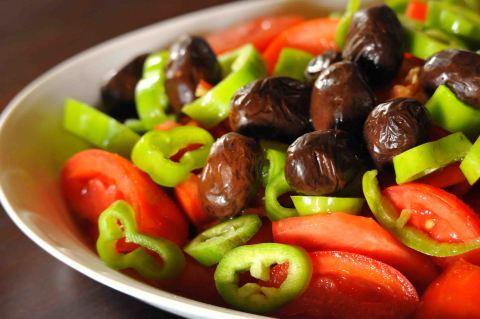 Griechischer Salat, Mount Athos