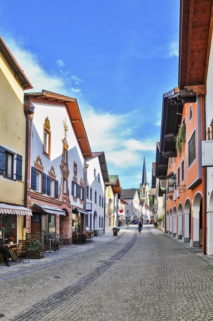 Bygate i Garmisch-Partenkirchen