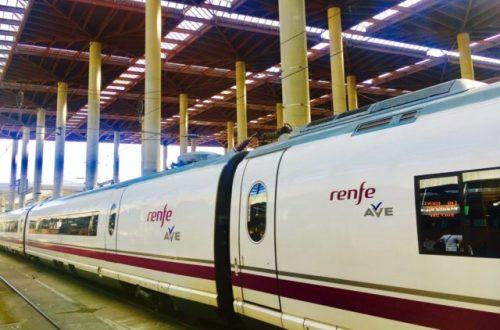 Renfe Tog i Spania