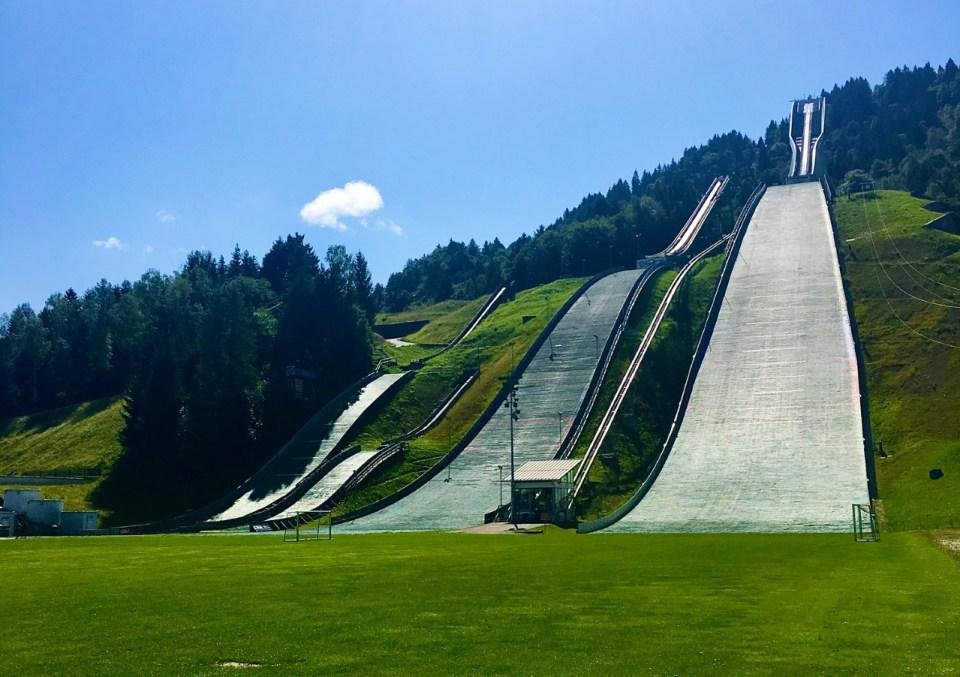 Hoppbakken i Garmisch-Partenkirchen