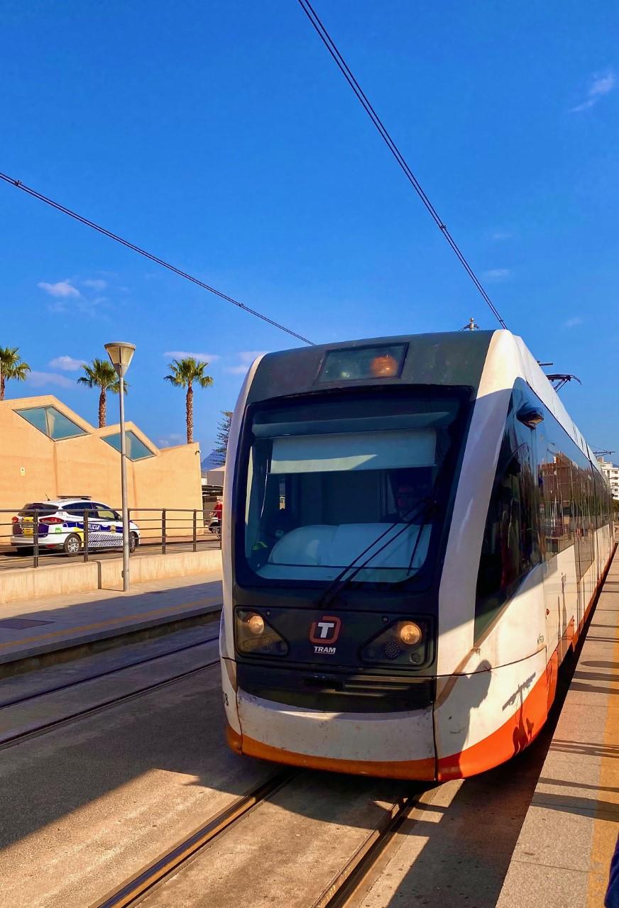 Tram Alicante Benidorm