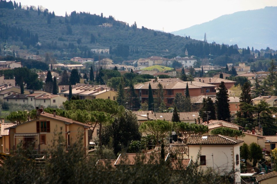 Utsikt over Sesto Fiorentino