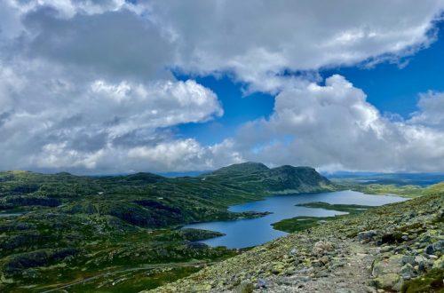 Utsikt fra Gaustatoppen