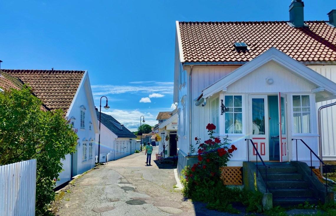 Åsgårdsstrand hvite hus