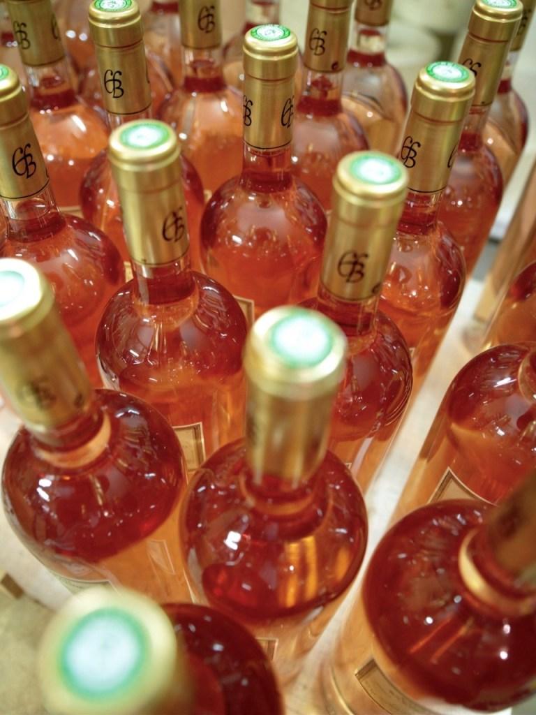 Aix rosevin mange flasker
