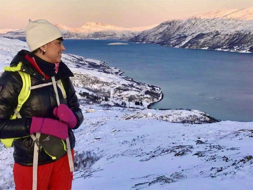 Nattmålsfjellet i Tromsø