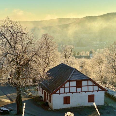 Utsikt fra Kongsvinger festning
