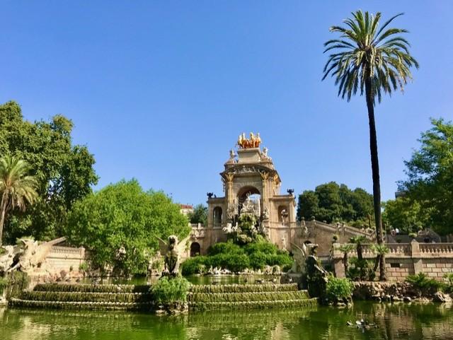 Barcelona Citadella park