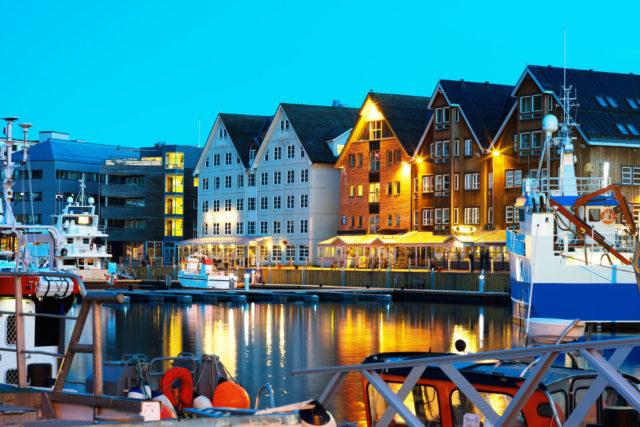Havna i Tromsø