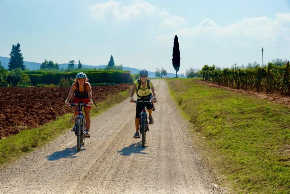 Sykkeltur i Toscana