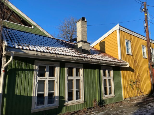 Trehusbebyggelse Rodeløkka Oslo
