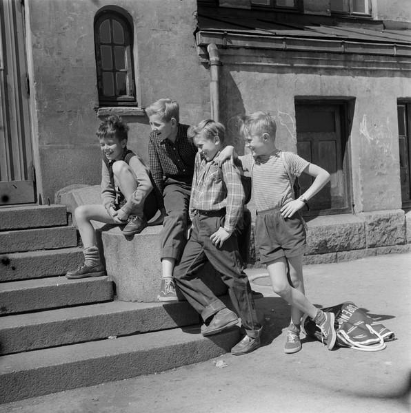 Gamle bilder fra Oslo guttegjeng