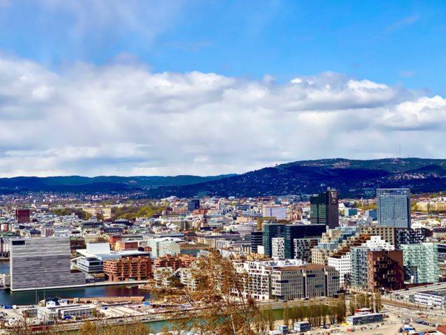 Utsikt over Oslo fra Ekeberg
