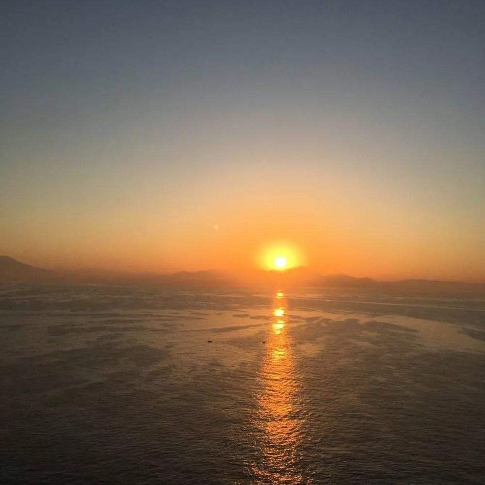 Sonnenaufgang Procida