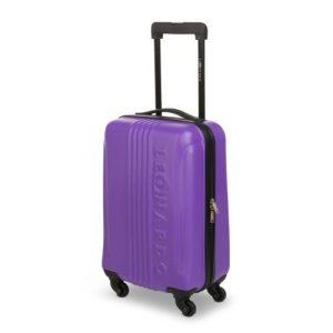 leonardo koffer lila