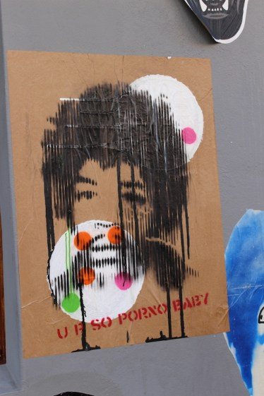 Graffiti in Berlin im Prenzlauer Berg