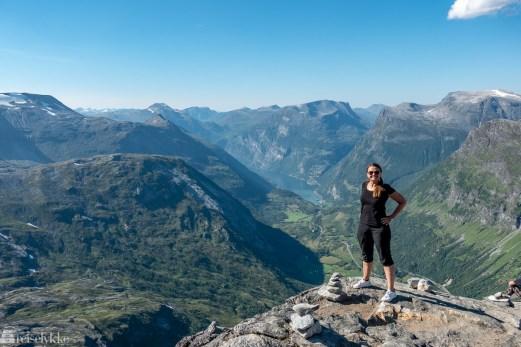 Reisetrender 2019_Mette ved Geiranger